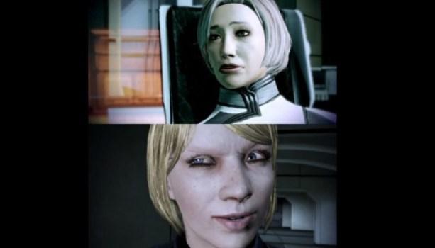 Odd Facial Animations - Mass Effect 2 / Mass Effect 3