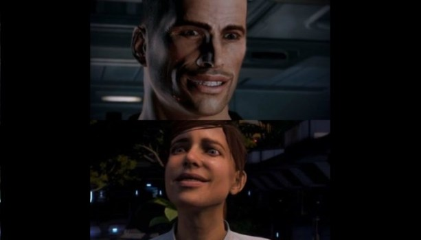 Odd Facial Animations - Mass Effect 3 / Andromeda