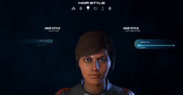 hairstyles, mass effect, andromeda