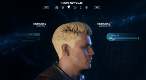 Mass Effect Andromeda Male Hairstyle 0