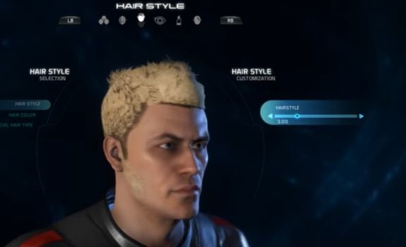 Mass Effect Andromeda Male Hairstyle 3