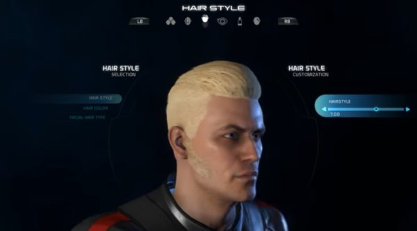 Mass Effect Andromeda Male Hairstyle 7