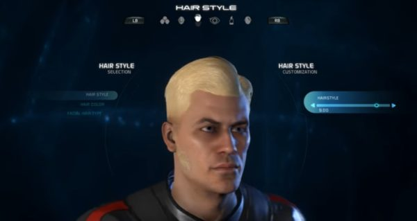 Mass Effect Andromeda Male Hairstyle 9