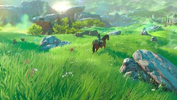 breath of the wild, zelda, horses, legend of zelda
