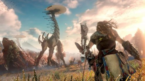 Top 20 Best Open World Games on PS4 Horizon Zero Dawn