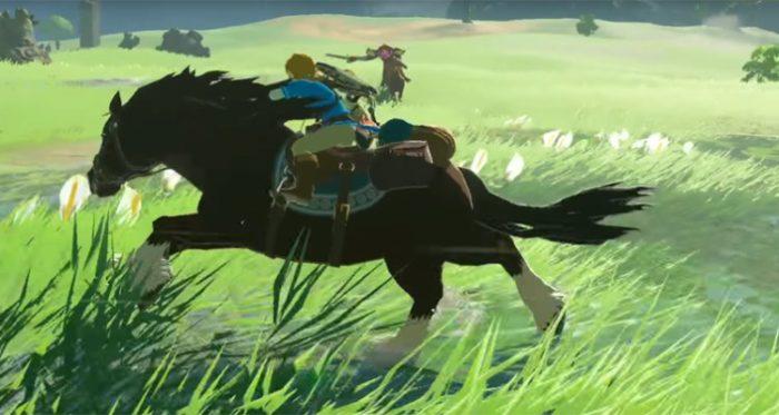 breath of the wild horseriding