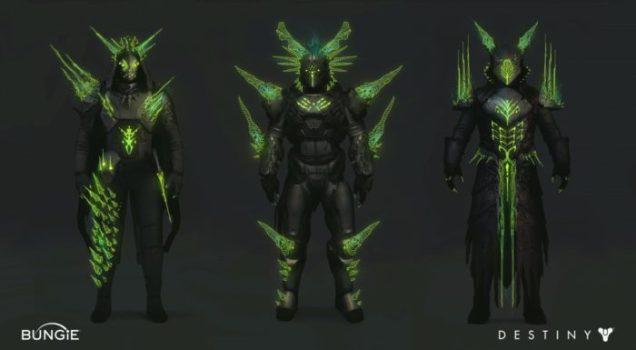 Crota's End Armor Concept