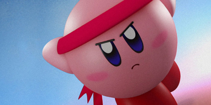 kirby, 3ds, kirby title