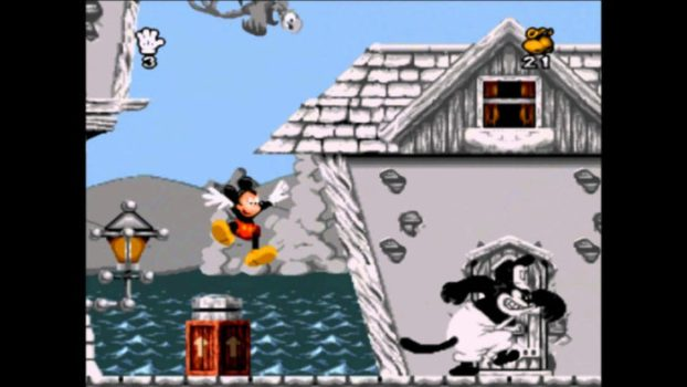 11. Mickey Mania: The Timeless Adventure of Mickey Mouse (NES, Genesis)
