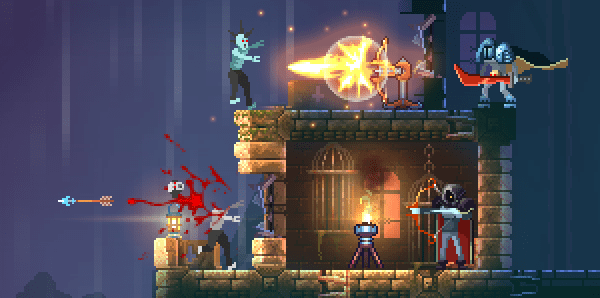 Gorgeous Pixel Art RogueVania Game Dead Cells Hits Steam Early Access Today