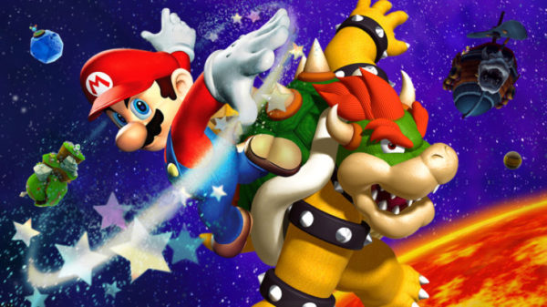Mario bosses, bowser, boss, galaxy