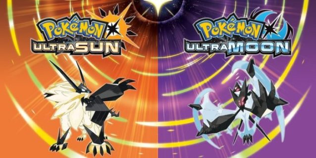 3DS, Pokemon Ultra Sun and Ultra Moon