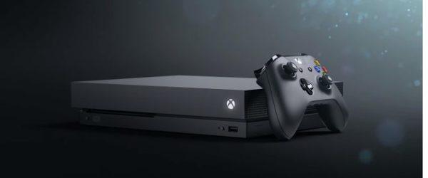 Xbox One X, e3 2017, microsoft