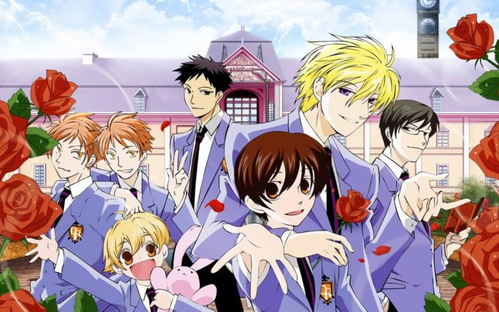 Anime Netflix Ouran High School Host Club