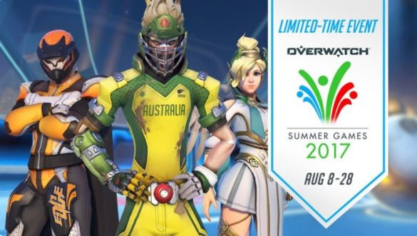 What s New in Overwatch s Summer Games 2017  Everything You Need to Know overwatch  summer games 2017  skins
