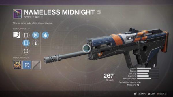 best scout rifles, destiny 2