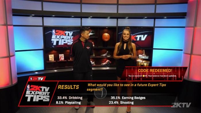 NBA 2K18 2KTV