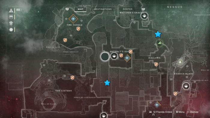 destiny 2, vex hydra, locations, hydra
