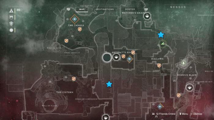destiny 2, vex hydra, locations, hydra
