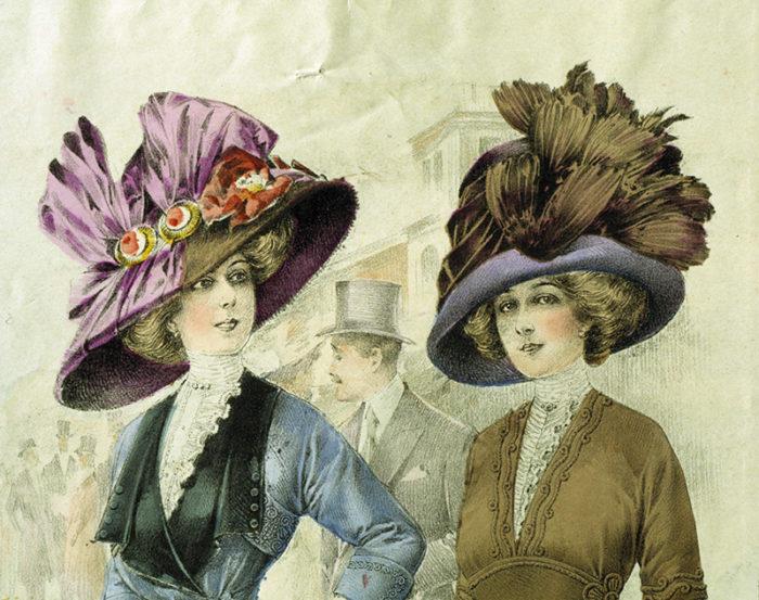 Women wearing hats