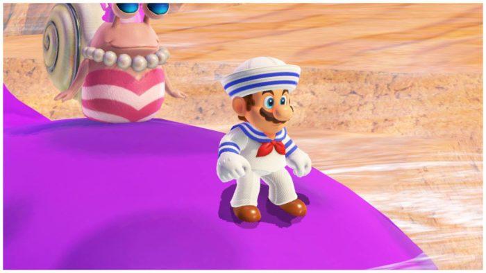 mario odyssey sailor