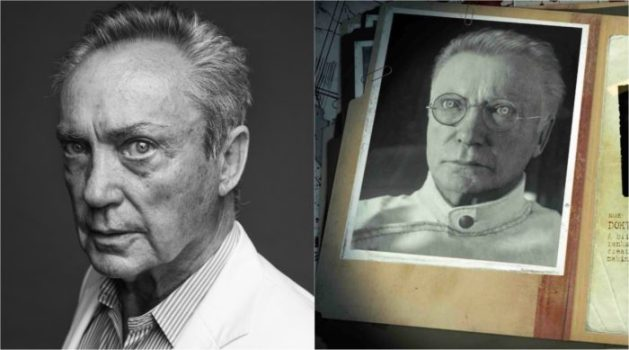 Udo Kier -Doktor Peter Straub