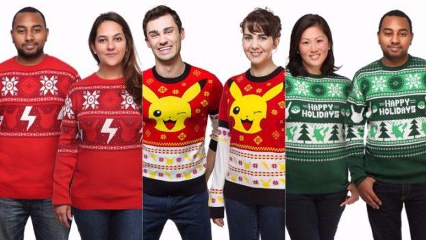 Pokemon Sweaters