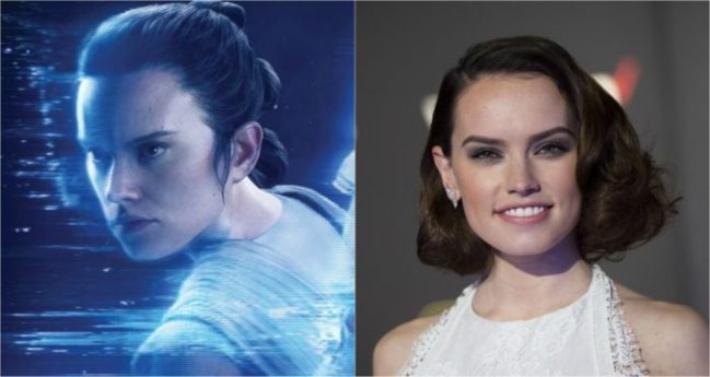 Rey - Daisy Ridley