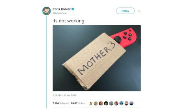 Mother 3 Confirmed?