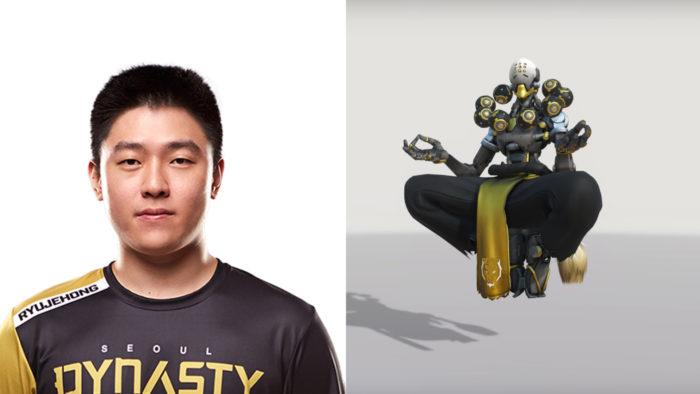 ryujehong, overwatch, overwatch league, owl, zenyatta