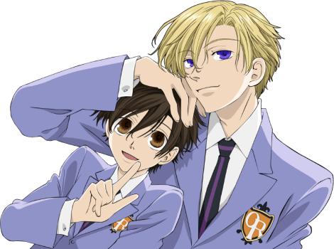 Haruhi and Tamaki - Ouran High School Host Club