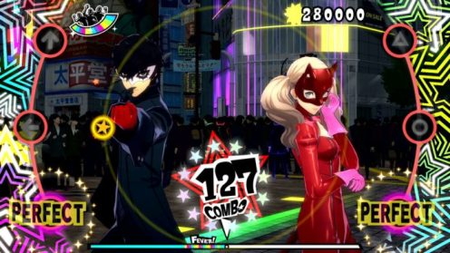 persona 5, dancing in starlight, review