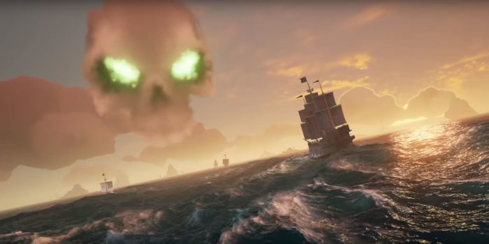 Sea of Thieves, xbox one, microsoft, 2018