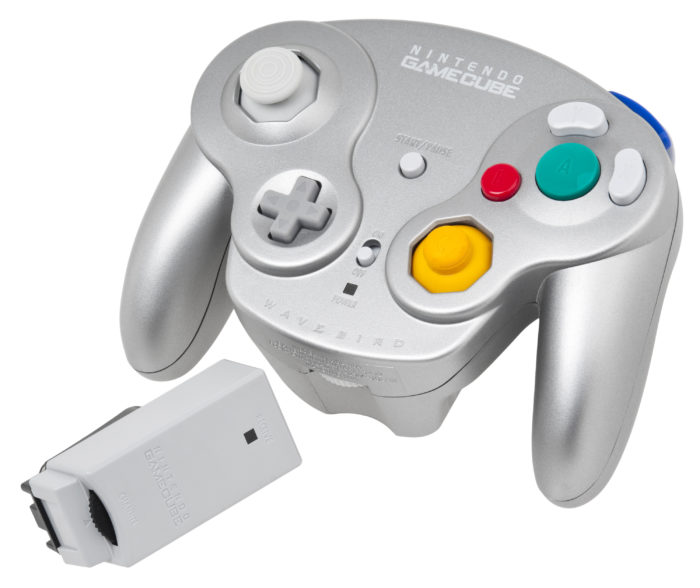 gamecube controller, wavebird, wireless