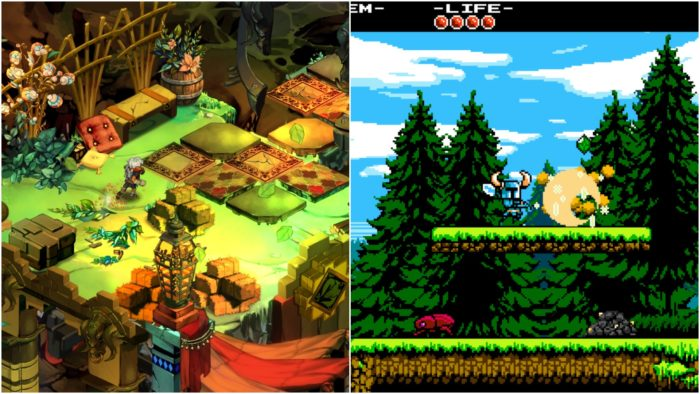 PS Plus, bastion, shovel knight, indies