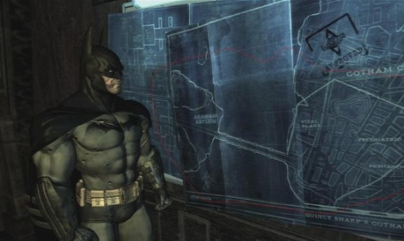 Batman: Arkham Asylum – Plans to Arkham City