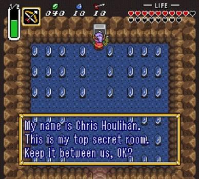 The Legend of Zelda: A Link to the Past – Chris Houlihan Room