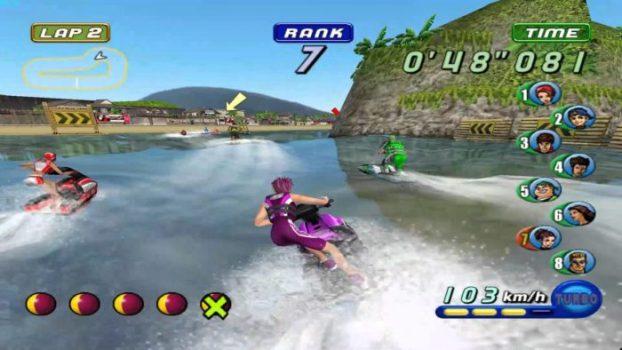 Wave Race: Blue Storm – Sarcastic Announcer