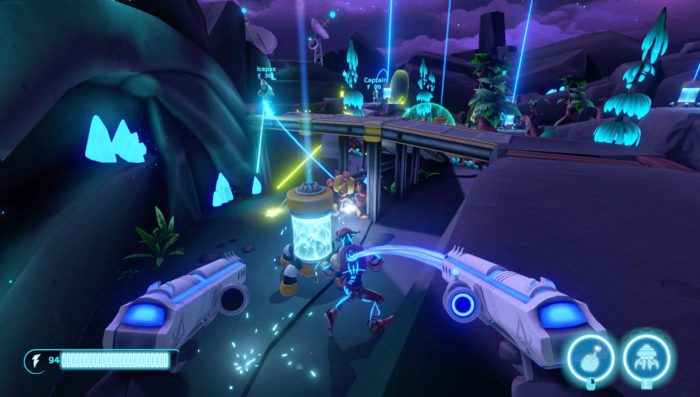 Aftercharge Is a Fast-Paced, Highly Competitive Team Shooter That Could Be the Next Rocket League