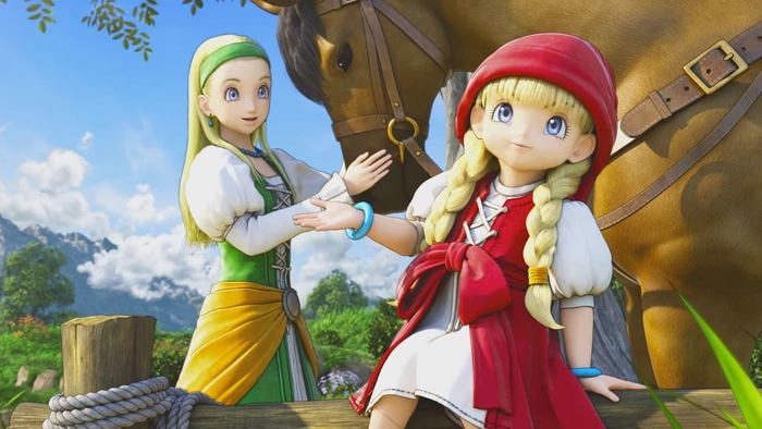 dragon quest xi, switch, ps4, pc