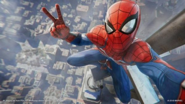 goty, 2018, game of the year, spider-man