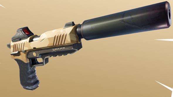 6. Suppressed Pistol