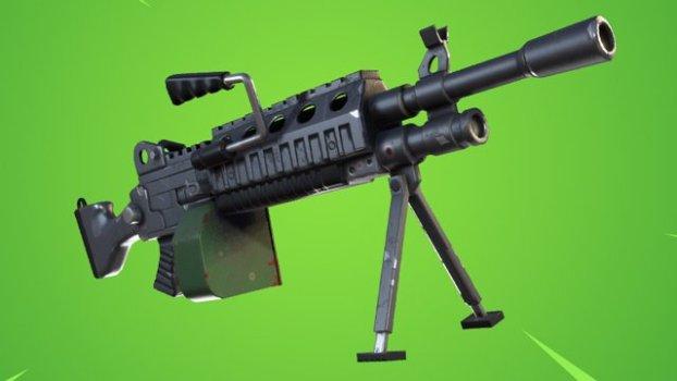 2. Light Machine Gun