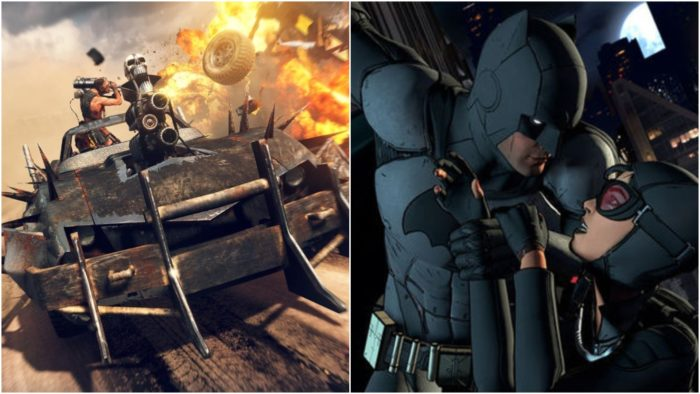 batman, telltale, mad max, xbox, games with gold