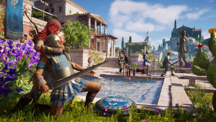 assassin's creed odyssey, lower nation power, october 2018, video game releases, ps4