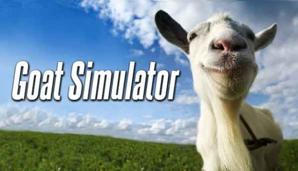 goat simulator, sandbox games, dumb fun games