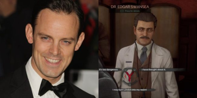 Harry Hadden-Paton - Dr. Swansea Clarence / Ichabod / Lord Finney