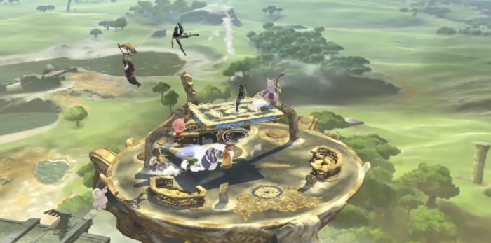 Great Plateau Tower, stage, super smash bros. ultimate