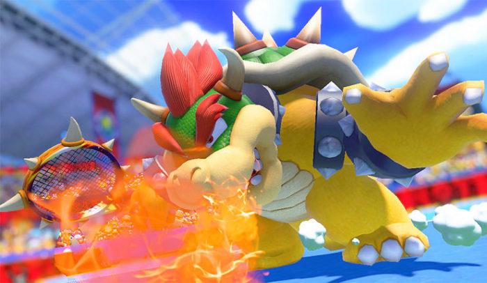 Mario Tennis Aces Bowser