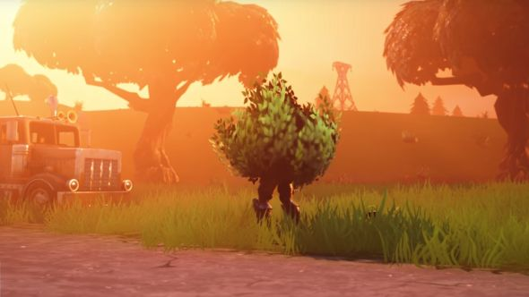 Hiding From Battles and Using Bushes for Cover